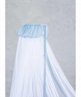 Βρεφική Κουνουπιέρα (bebe) NAPPY της NIMA HOME (200x570) LIGHT BLUE