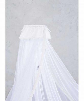 Βρεφική Κουνουπιέρα Κούνιας NAPPY WHITE της NIMA HOME
