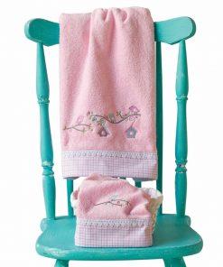NEST Σετ (2τμχ) Βρεφικές (bebe) Πετσέτες της ΚΕΝΤΙΑ