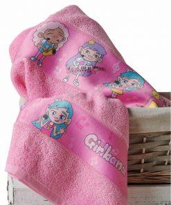 NOTES Σετ (2τμχ) Παιδικές Πετσέτες Μπάνιου της ΚΕΝΤΙΑ