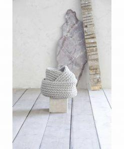 Καλάθι PANIER της NIMA HOME (19x16) BEIGE