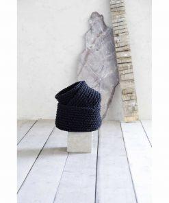 Καλάθι PANIER της NIMA HOME (23x14) BLACK