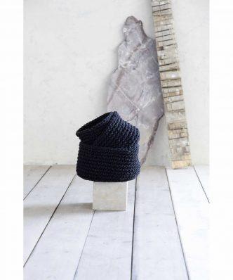 Καλάθι PANIER της NIMA HOME (28x15) BLACK