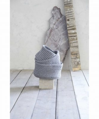 Καλάθι PANIER της NIMA HOME (28x15) GRAY