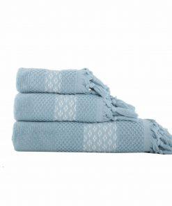 Πετσέτα Μπάνιου ELVIA της NEF-NEF (70x140) BLUE