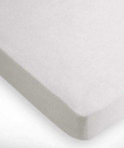 Αδιάβροχο Ξενοδοχειακό Πετσετέ Προστατευτικό κάλυμμα Στρώματος (90x200) - 80% Βαμβάκι / 20% Polyester