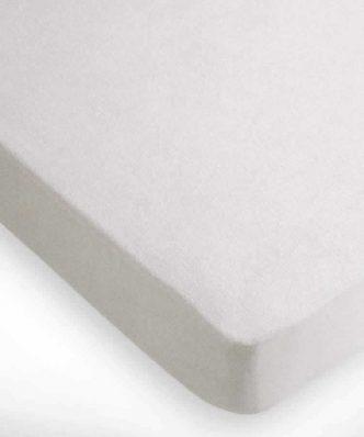 Αδιάβροχο Ξενοδοχειακό Πετσετέ Προστατευτικό κάλυμμα Στρώματος (100x200) - 80% Βαμβάκι / 20% Polyester