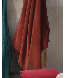 Fleece Κουβέρτα Υπέρδιπλη PLANET PAPRICA της NEF-NEF