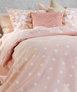 Κουβέρτα Πικέ Υπέρδιπλη POSTO PINK της NEF-NEF