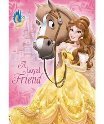 Αυθεντικό Παιδικό Χαλάκι (133x190) Digital Print PRINCESS 116 της Disney