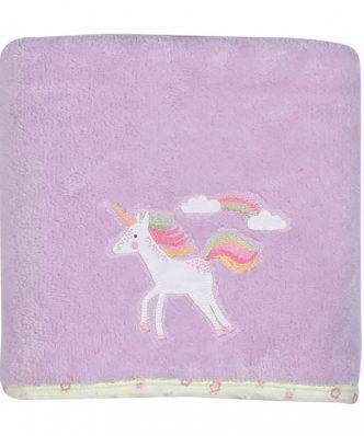 Fleece Βρεφική Κουβέρτα Κούνιας (bebe) RAINBOW STORY της NEF-NEF
