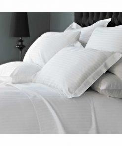Ξενοδοχειακή Μαξιλαροθήκη ύπνου (50X70) ΣΑΤΕΝ ΡΙΓΑ - 230TC 100% Percale