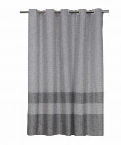 Κουρτίνα Μπάνιου (180x200) LAK GREY της NEF-NEF