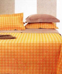 Καλοκαιρινή Κουβέρτα Μονή SIXTIES ORANGE της Guy Laroche