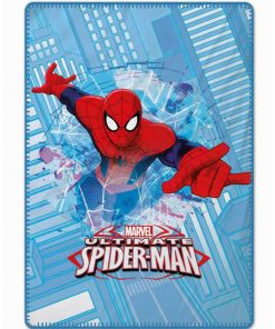 Βρεφική Fleece Κουβέρτα Κούνιας SPIDERMAN της Disney / Palamaiki
