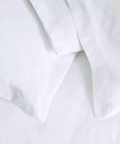 Ξενοδοχειακή Μαξιλαροθήκη Ύπνου (52x75) OXFORD (4 πλευρών) - 200TC 100% Περκάλι