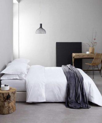 Ξενοδοχειακή Μαξιλαροθήκη Ύπνου (52x73) OXFORD (3 πλευρών) - 300TC 100% Βαμβακοσατέν