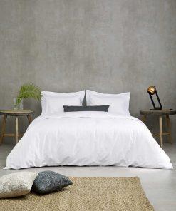 Ξενοδοχειακή Μαξιλαροθήκη Ύπνου (52x75) OXFORD (3 πλευρών) ΣΑΤΕΝ ΡΙΓΑ 4,5cm - 300TC 100% Βαμβακοσατέν