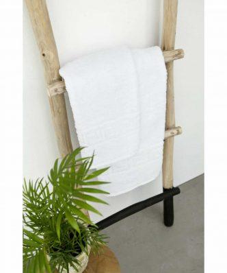 Ξενοδοχειακή Πετσέτα Προσώπου (50x90) GREEK BORDER - 500gsm / 100% Βαμβάκι