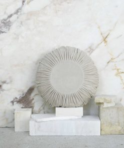 Βελουτέ Διακοσμητικό Μαξιλάρι VELLUTO της NIMA HOME (Δ:45 cm) BEIGE