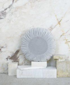 Βελουτέ Διακοσμητικό Μαξιλάρι VELLUTO της NIMA HOME (Δ:45 cm) GRAY