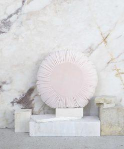 Βελουτέ Διακοσμητικό Μαξιλάρι VELLUTO της NIMA HOME (Δ:45 cm) SALMON