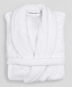 Ξενοδοχειακό Μπουρνούζι Πετσετέ με γιακά No XL / 100% Βαμβάκι