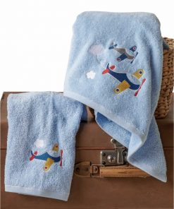 WINGS Σετ (2τμχ) Βρεφικές (bebe) Πετσέτες της ΚΕΝΤΙΑ