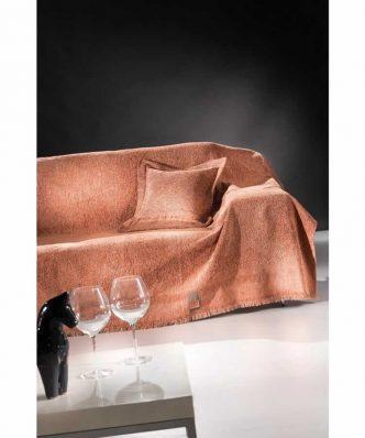 Ριχτάρι 2θέσιου Καναπέ 2 όψεων (170x250) BALANCE SALMON της Guy Laroche