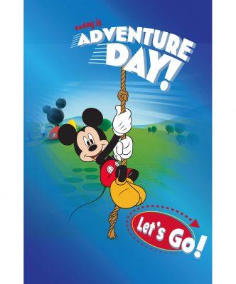 Αυθεντικό Παιδικό Χαλάκι (133x190) Digital Print Club House 36 της Disney