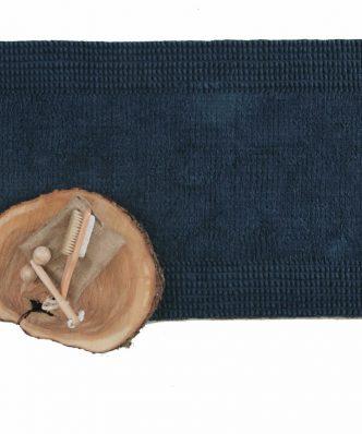 Πατάκι Μπάνιου (50x90) CONTOUR NAVY της Sb Home