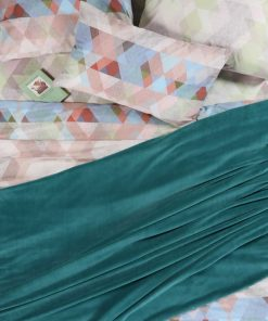Fleece Κουβέρτα Υπέρδιπλη PLANET DUSTY PETROL της NEF-NEF