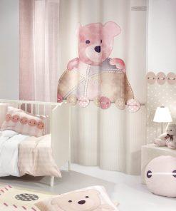 Παιδική Κουρτίνα TEDDY ROSE της Saint Clair