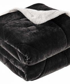 Κουβερτοπάπλωμα Υπέρδιπλο (2 όψεων) FABULOUS BLACK (220x240) της Guy Laroche