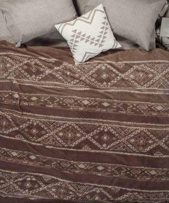 Fleece Κουβέρτα Μονή GANA της NEF-NEF (160x220) TAUPE