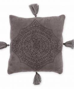 Fleece Διακοσμητικό Μαξιλαράκι AVA της NEF-NEF (45x45) GREY