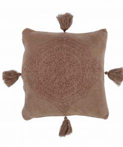 Fleece Διακοσμητικό Μαξιλαράκι AVA της NEF-NEF (45x45) BEIGE