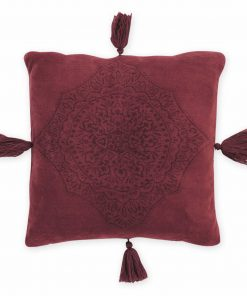 Fleece Διακοσμητικό Μαξιλαράκι AVA της NEF-NEF (45x45) BORDO