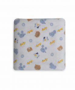 Βρεφική (bebe) Fleece Κουβέρτα Αγκαλιάς WONDERFUL WORLD της NEF-NEF (70x100)