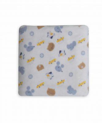 Βρεφική (bebe) Fleece Κουβέρτα Κούνιας WONDERFUL WORLD της NEF-NEF (110x140)