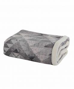 Κουβέρτα Καναπέ MAYA WINTER της NEF-NEF (130x170) GREY