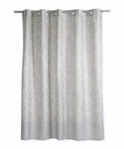 Αδιάβροχη Κουρτίνα Μπάνιου LEDICIA 180x180 της NEF-NEF (180x180) GREY