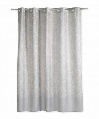 Αδιάβροχη Κουρτίνα Μπάνιου LEDICIA 180x200 της NEF-NEF (180x200) GREY