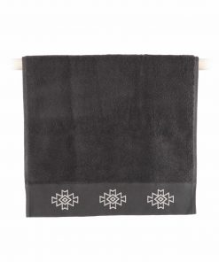 Σετ Πετσέτες Μπάνιου (3τμχ) ALICIA της NEF-NEF (30x50+50x90+70x140) ANTHRACITE