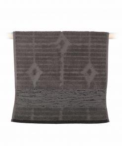 Πετσέτα Μπάνιου MAZE της NEF-NEF (70x140) ANTHRACITE