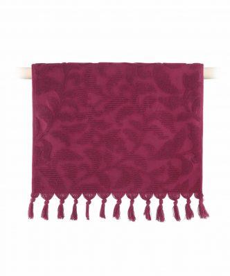 Πετσέτα Χεριών KYNTHIA της NEF-NEF (30x50) 1127-BORDO