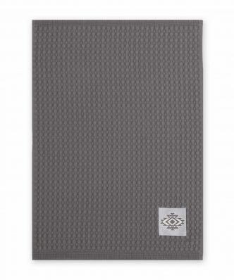 Ποτηρόπανο Πικέ VILLAGE της NEF-NEF (45x68) ANTHRACITE
