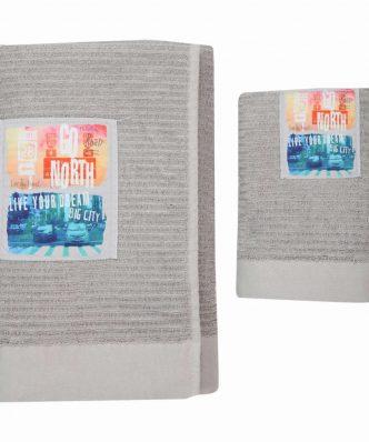 Σετ Πετσέτες Μπάνιου (2τμχ) GO NORTH της NEF-NEF (50x80+70x140)