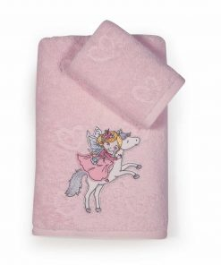 Σετ Παιδικές Πετσέτες Μπάνιου (2τμχ) I LOVE MY UNICORN της NEF-NEF (30x50+70x140)