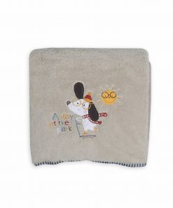Βρεφική (bebe) Fleece Κουβέρτα Κούνιας A DAY AT THE PARK της NEF-NEF (110x150)